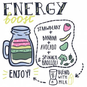 energy smoothie for nutrition
