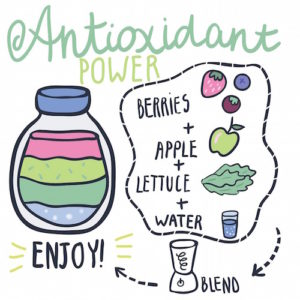 smoothie-anti oxident for nutrition
