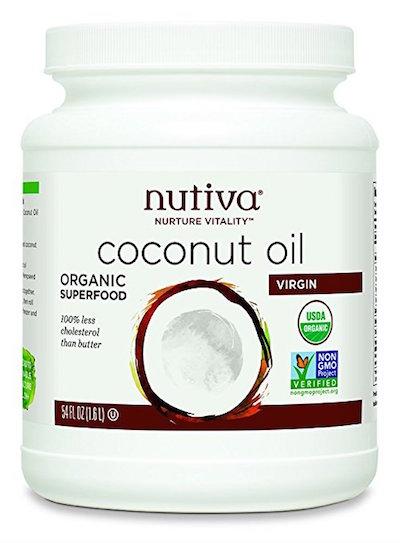 Nutiva Organic Coconut Oil,
