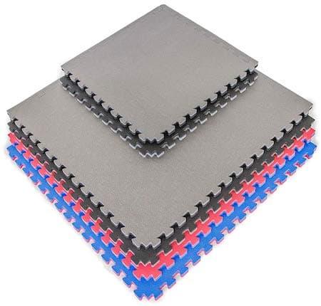 Norsk Truly Reversible 3//4 Sport MMA Foam Mats EVA Foam Interlocking Tiles